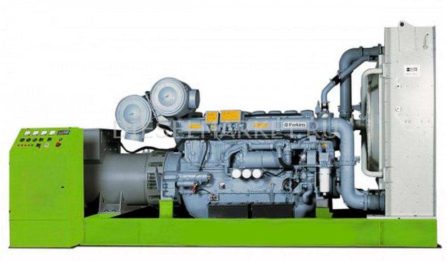 Дизель генератор Генератор Perkins DJ 700 PR дизельный 560 кBт